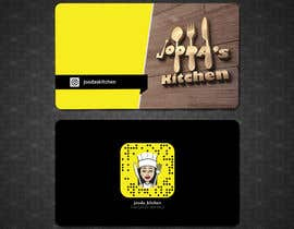 #46 for Business Cards for Jooda's Kitchen by shimulh