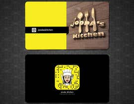 #47 for Business Cards for Jooda's Kitchen by shimulh