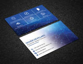 #130 for Design a business card with a technology and connection theme by lipiakter7896