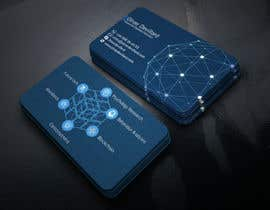 #212 for Design a business card with a technology and connection theme by rahnumarah476