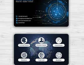 #203 for Design a business card with a technology and connection theme by Mannan80
