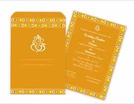 #21 per Hindu Wedding Invitation Card Design da narvekarnetra02