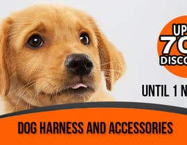 #12 for Discount banner for dog articles by shimulh