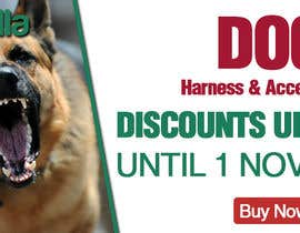 #18 for Discount banner for dog articles af siamahmed22900