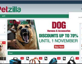 #19 for Discount banner for dog articles af siamahmed22900