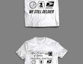 #17 for USPS T-shirt design af Exer1976