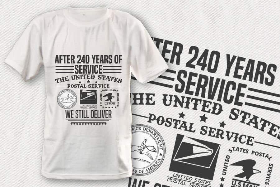 USPS T-shirt design   Freelancer