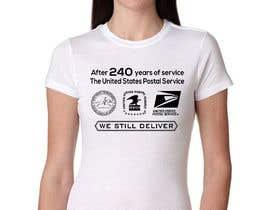 #4 for USPS T-shirt design af hossaingpix