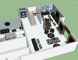 misalpingua03 tarafından to make residential interior design by sketch up için no 14