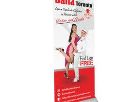 #36 for Stand-up Banner (Dance School) by aangramli