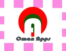 "#18 para Design logo for ""OmanApps"". Three colors: Red, white and green. Be creative in selecting icons :) por nakib0888"