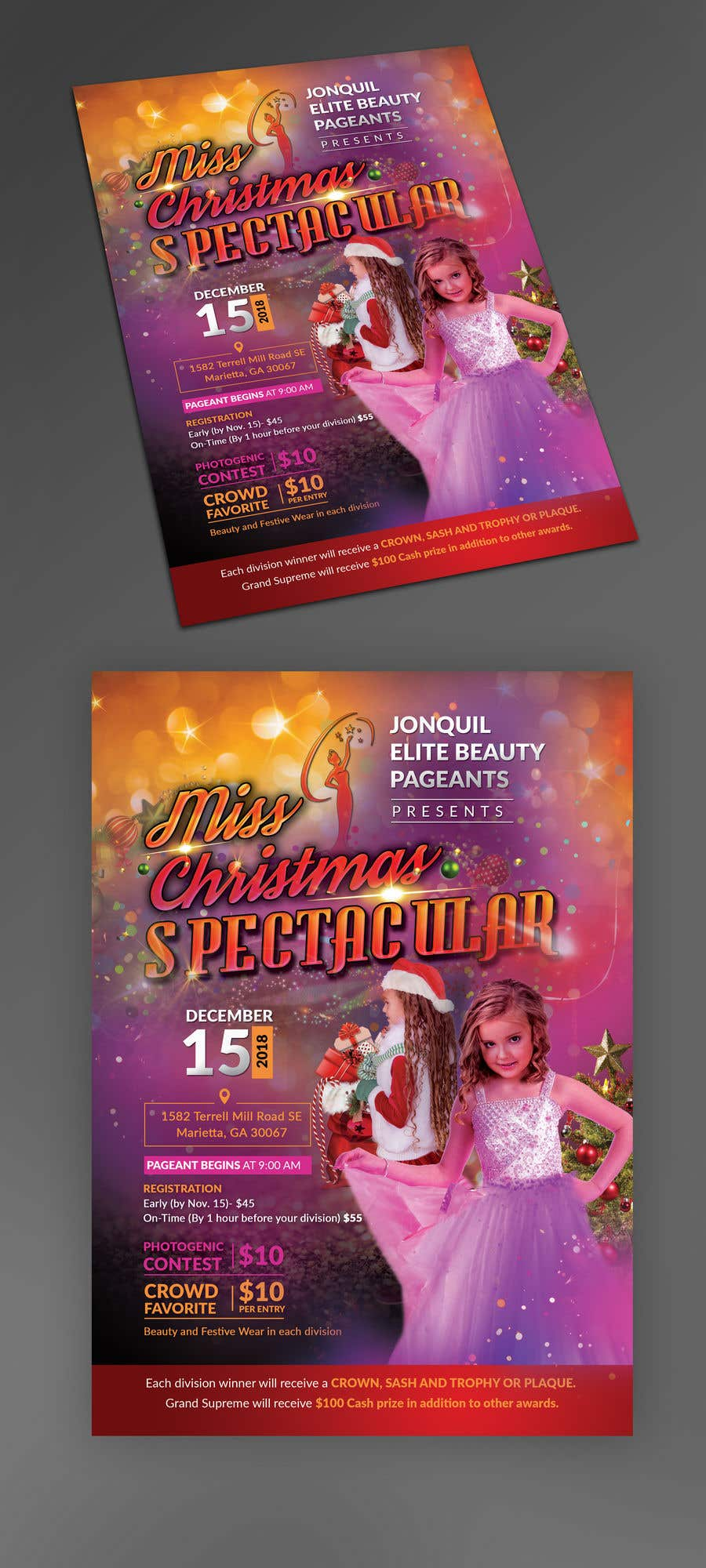 contest entry 32 for beauty pageant flyer needed