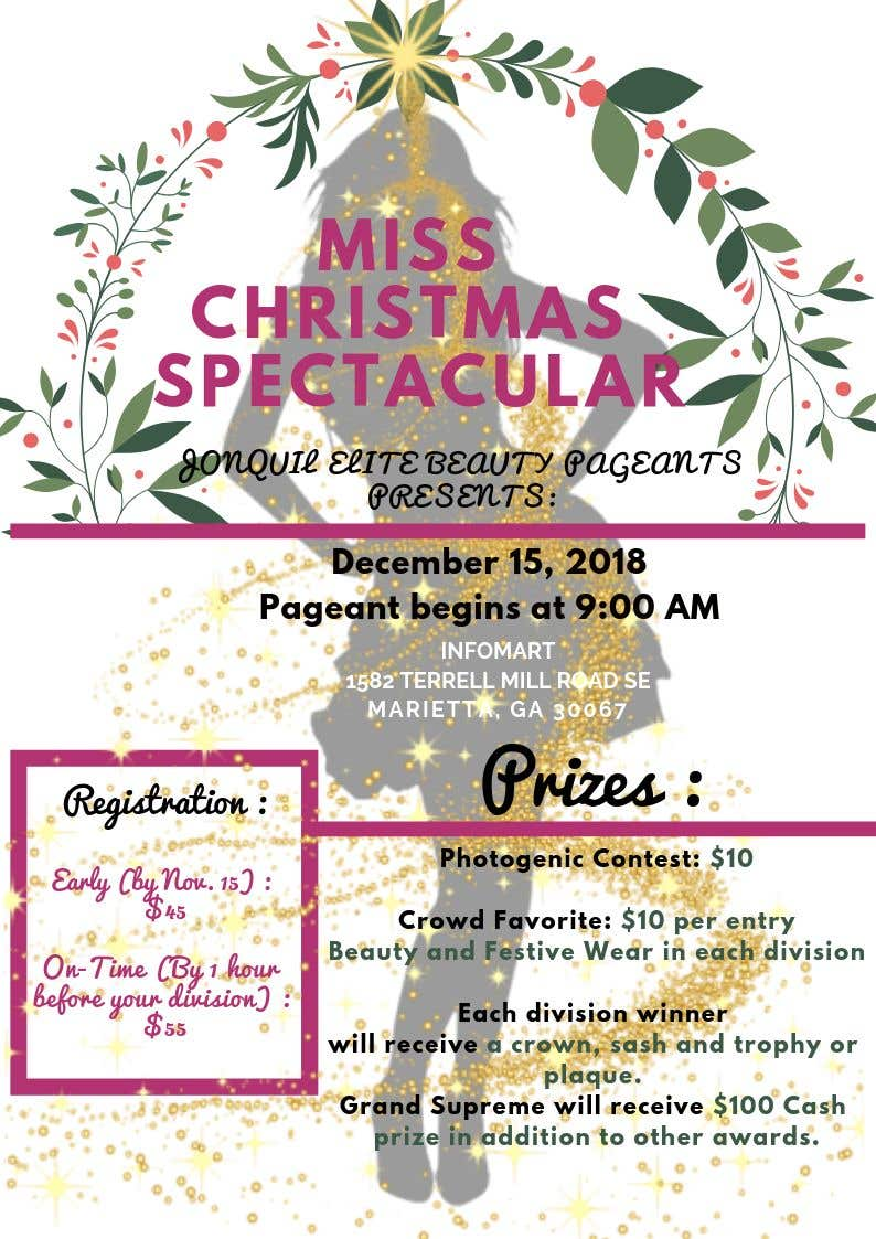 contest entry 15 for beauty pageant flyer needed