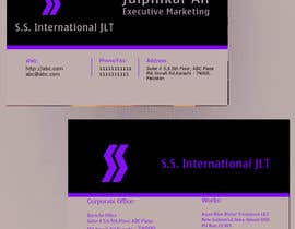 nº 53 pour Business Card Design for S.S. International par anirbanghosh99