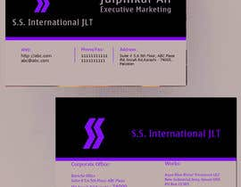 #54 for Business Card Design for S.S. International af anirbanghosh99