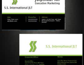 nº 60 pour Business Card Design for S.S. International par anirbanghosh99