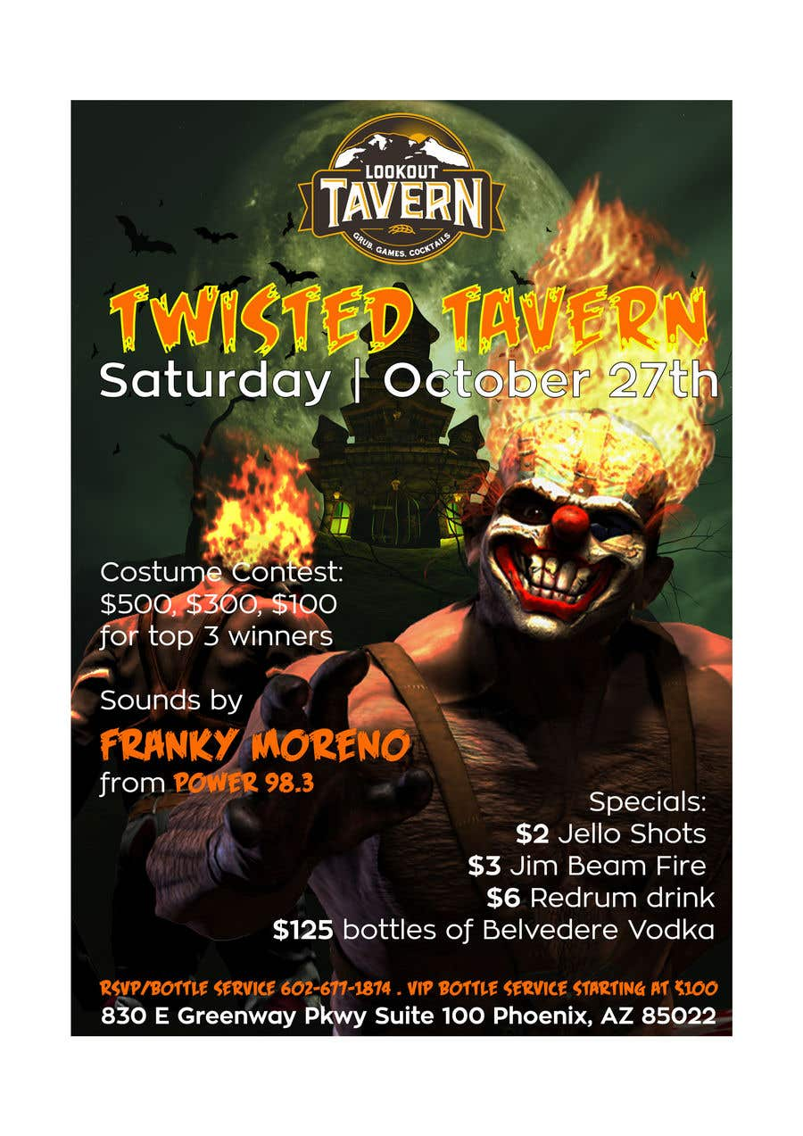 entry 32 by valentinikid80 for halloween club flyer freelancer