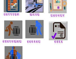 #8 for Icons for desktop application needed - wine by birhanedangew