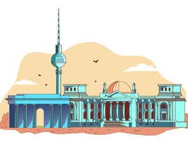 #16 para Draw an image about a city of Germany de zahodinachay