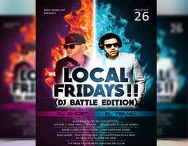 Nro 71 kilpailuun Design a DJ Battle Flyer käyttäjältä sourabh1604ph2