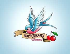 jcabrera83 tarafından Design a Logo for Rockabilly Clothing for children için no 34