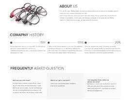 nº 69 pour Forward thinking, creative, retail OPTICAL website DESIGN challenge! par writi09