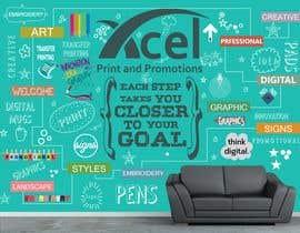 #48 para Design a wall graphic por sshhll