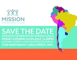 Redbrock tarafından Design a Save the Date (Invitation) to a benefit Gala. için no 24