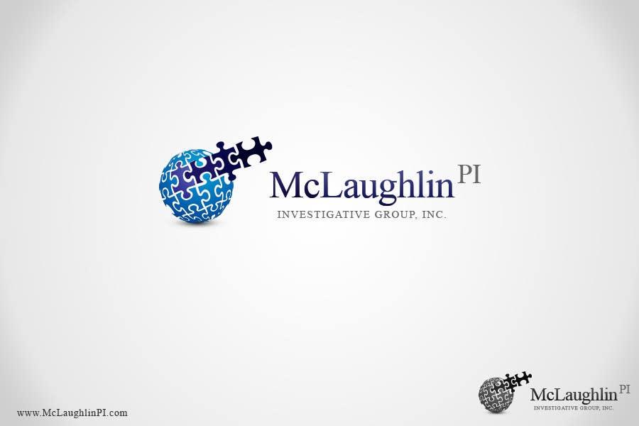 Конкурсная заявка №155 для Logo Design for www.McLaughlinPI.com