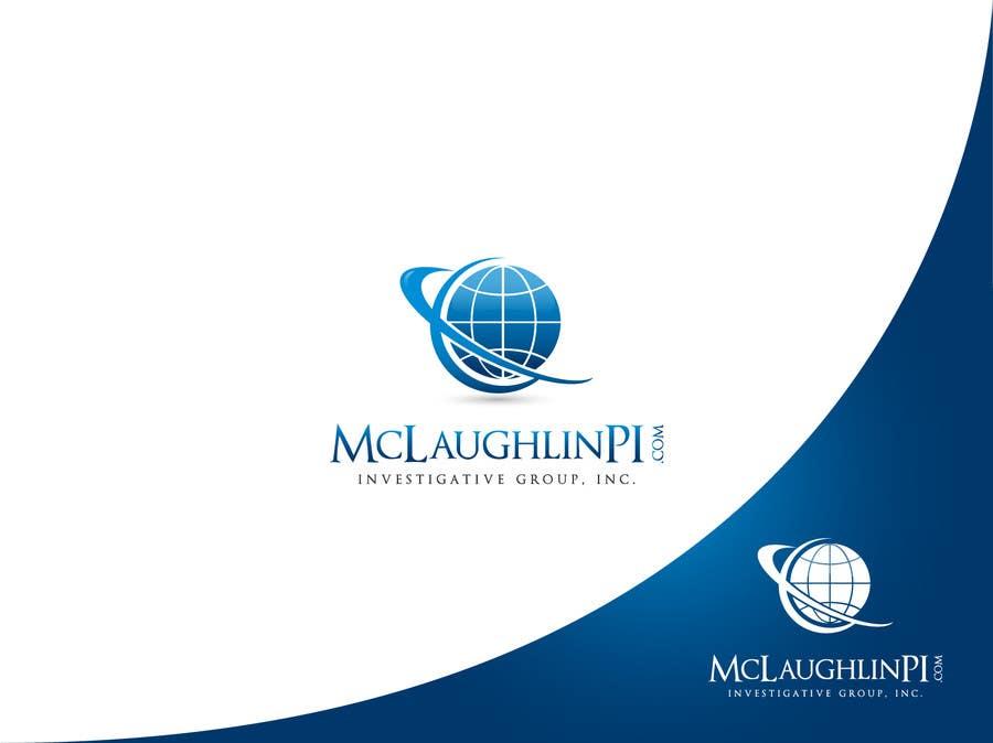 Конкурсная заявка №128 для Logo Design for www.McLaughlinPI.com