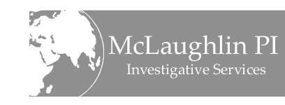 Конкурсная заявка №56 для Logo Design for www.McLaughlinPI.com