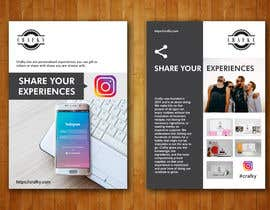 """#33 for Create 4"""" x 6"""" double sided flyers to promote my companies instagram af dinesh0805"""