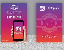 "#29 untuk Create 4"" x 6"" double sided flyers to promote my companies instagram oleh risfatullah"