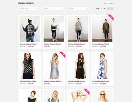 #37 para *** Mockup for Fashion Online Shop *** por oceanganatra
