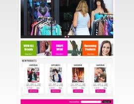 #24 para *** Mockup for Fashion Online Shop *** por nudgestudio