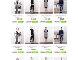 #18 para *** Mockup for Fashion Online Shop *** por hieuhugo127