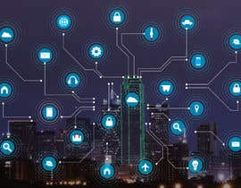 #23 cho Need IoT Internet of Things skyline created bởi htmlsafayet