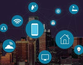 #39 cho Need IoT Internet of Things skyline created bởi htmlsafayet