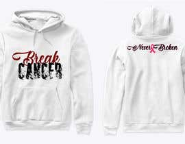 nº 8 pour Break Cancer Hoodie par AsterAran28