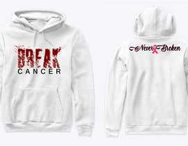 nº 9 pour Break Cancer Hoodie par AsterAran28