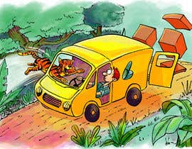 Nro 22 kilpailuun Children's story - simple caricatures käyttäjältä ecomoglio