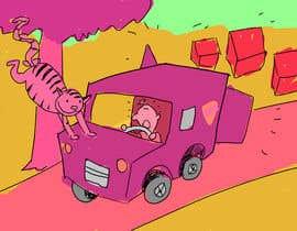 Nro 19 kilpailuun Children's story - simple caricatures käyttäjältä GraphicsArch24