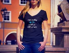 #121 para tshirt designes (text only) de stsohel92