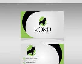 #7 для I'm looking for a logo to represent my new business consultancy firm Koko. I am wanting a modern design with a mascot in the form of a gorilla.   Ideally no more than 2-3 colours. There could even be room for a jungle like theme от joselgarciaf1