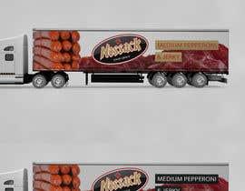 Nro 47 kilpailuun Make truck wrap artwork käyttäjältä endarif