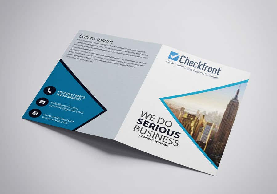 2 Page Brochure >> Entry 2 By Uttamkumar01 For Design A 4 Page Brochure