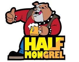 #34 para Logo Design for half mongrel de LUK1993