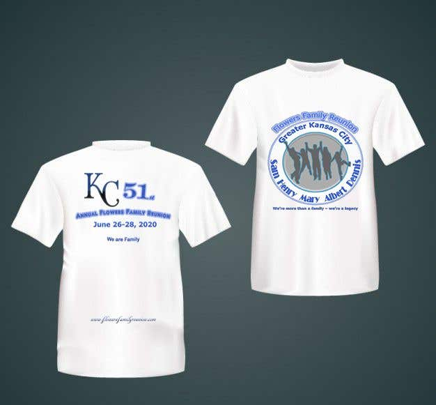 Konkurrenceindlæg #22 for Graphic Design for Family Reunion T-Shirt and Marketing Materials