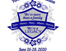 #31 untuk Graphic Design for Family Reunion T-Shirt and Marketing Materials oleh adelheid574803