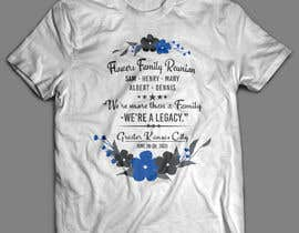 #18 untuk Graphic Design for Family Reunion T-Shirt and Marketing Materials oleh softboyasad